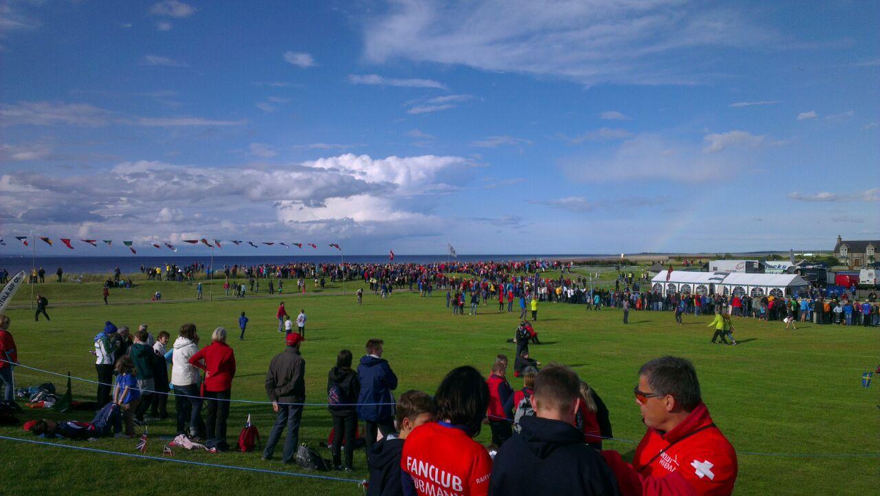 I campo gara affollato da tifosi - Foto di Viola Zagonel